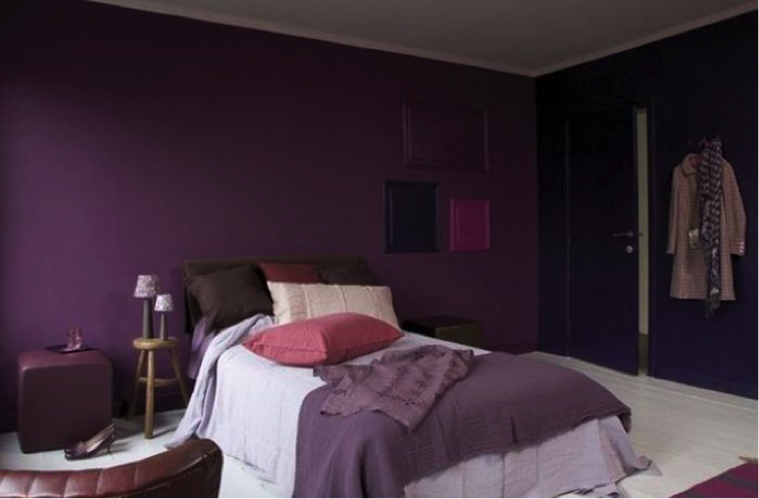 influence de la couleur des murs d 39 une chambre sur notre sommeil. Black Bedroom Furniture Sets. Home Design Ideas