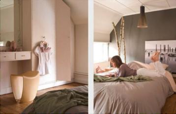 Influence de la couleur des murs d 39 une chambre sur notre - Couleur romantique pour chambre ...