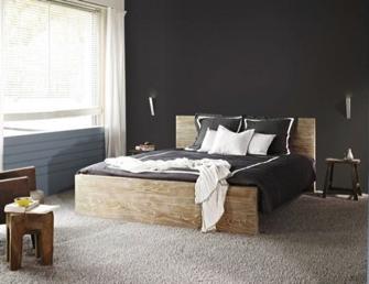 Influence de la couleur des murs d 39 une chambre sur notre - Couleur chambre a coucher ...
