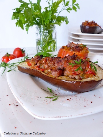 légumes farcis sans gluten