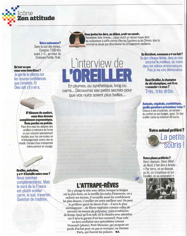 Oreiller Biotex interview